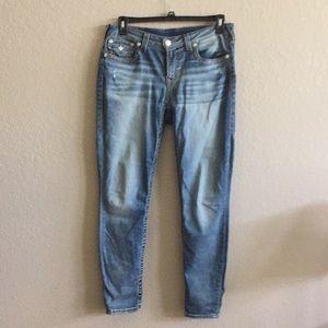 Size 31 True Religion skinny jeans